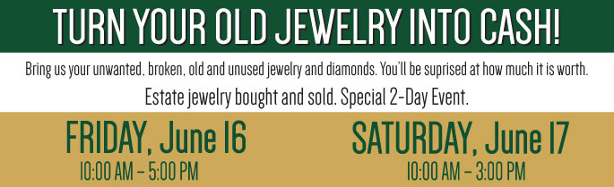 Trinity Jewelers Gold Buying Event